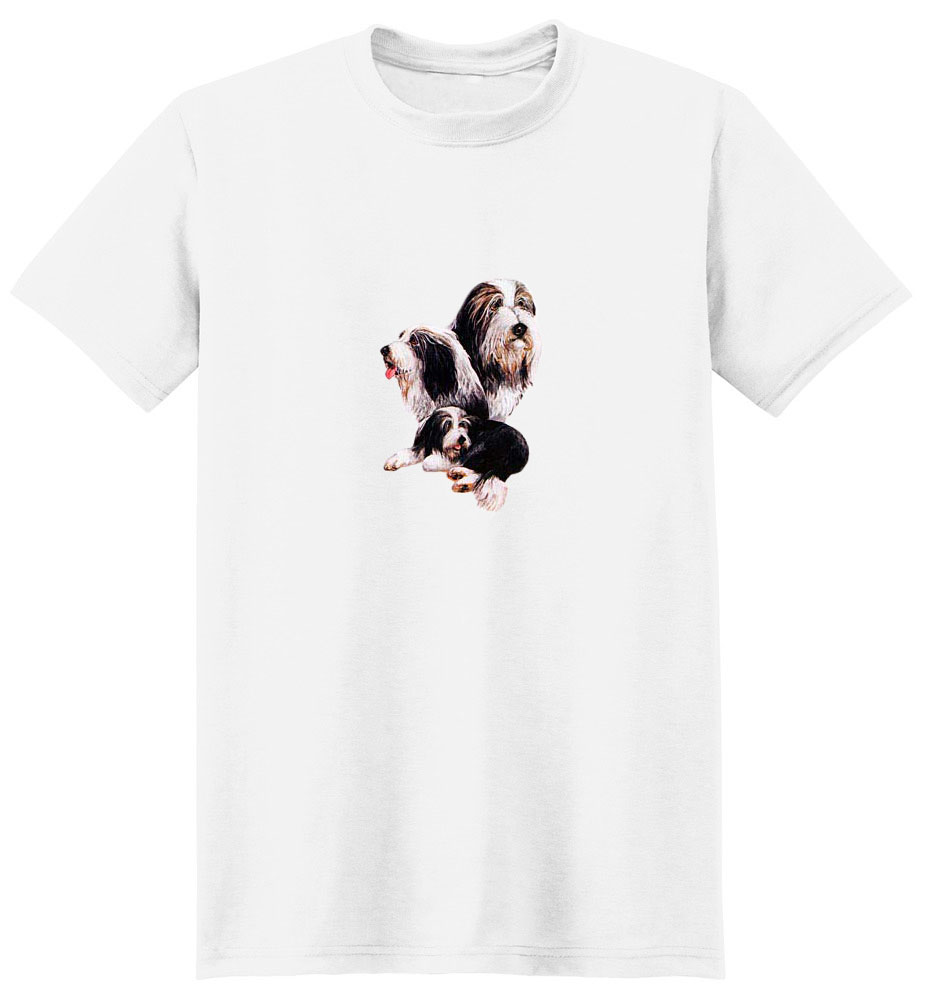 Bearded Collie T-Shirt - Best Friends