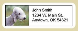 Bedlington Terrier Address Labels