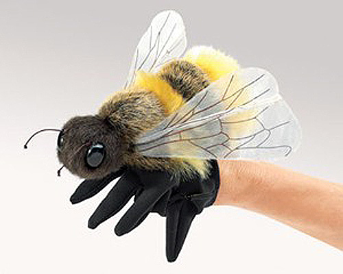 Bee Plush Puppet