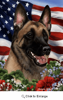 Belgian Malinois House Flag