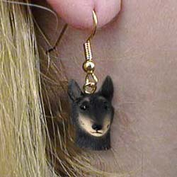 Belgian Tervuren Authentic Earrings