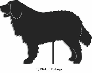 Bernese Mountain Dog Garden Stake