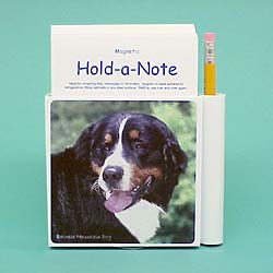 Bernese Mountain Dog Hold-a-Note