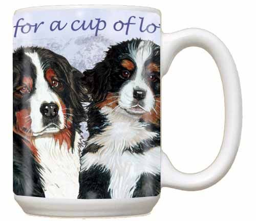 Bernese Mountain Dog Coffee Mug