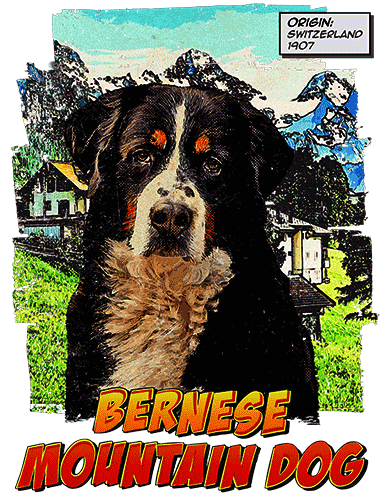 Bernese Mountain Dog T-Shirt Ancestry