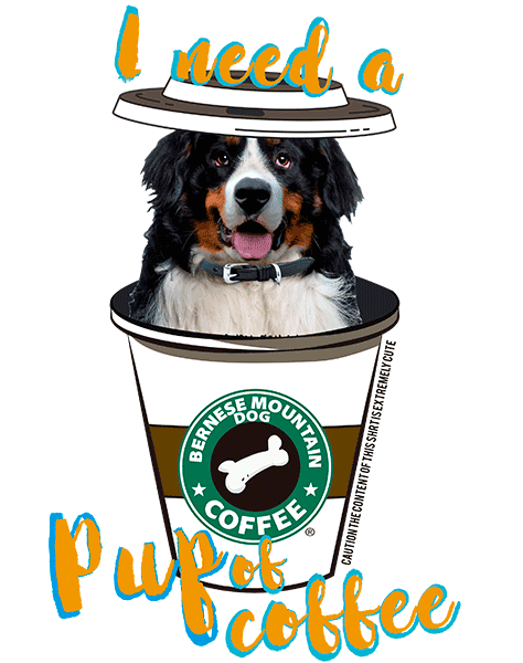 Bernese Mountain Dog T Shirt - Coffee Mug