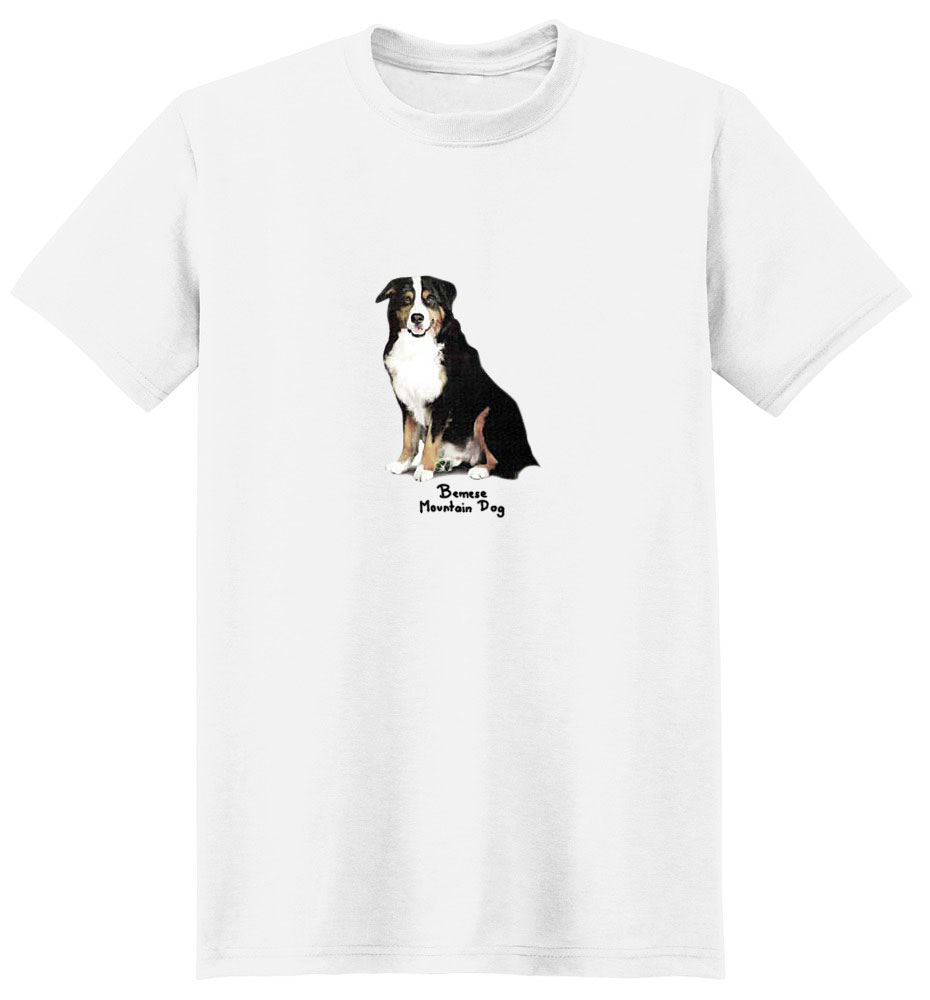 Bernese Mountain Dog T-Shirt - Perfectly Portrayed
