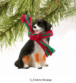 Bernese Mountain Dog Tiny One Christmas Ornament