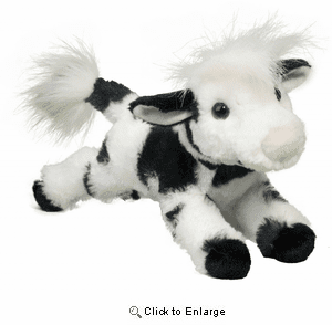 """Betsy Holstein Cow Plush 11"""" by Douglas Toy"""