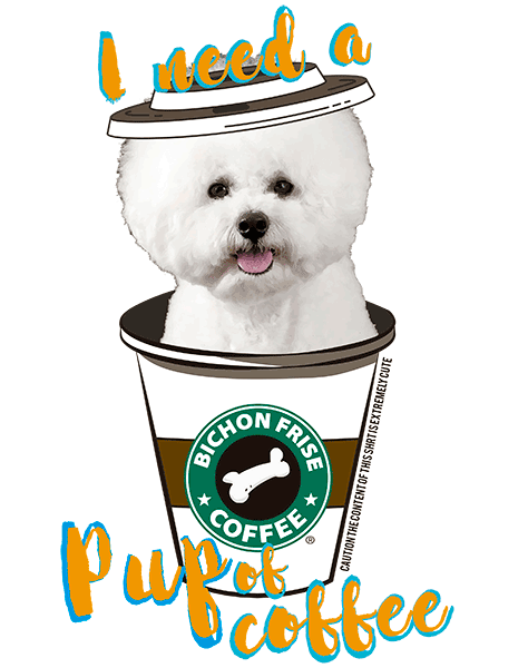 Bichon Frise T Shirt - Coffee Mug
