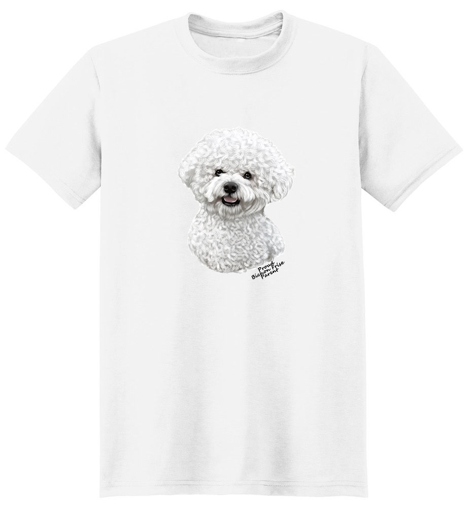 Bichon Frise T Shirt - Proud Parent