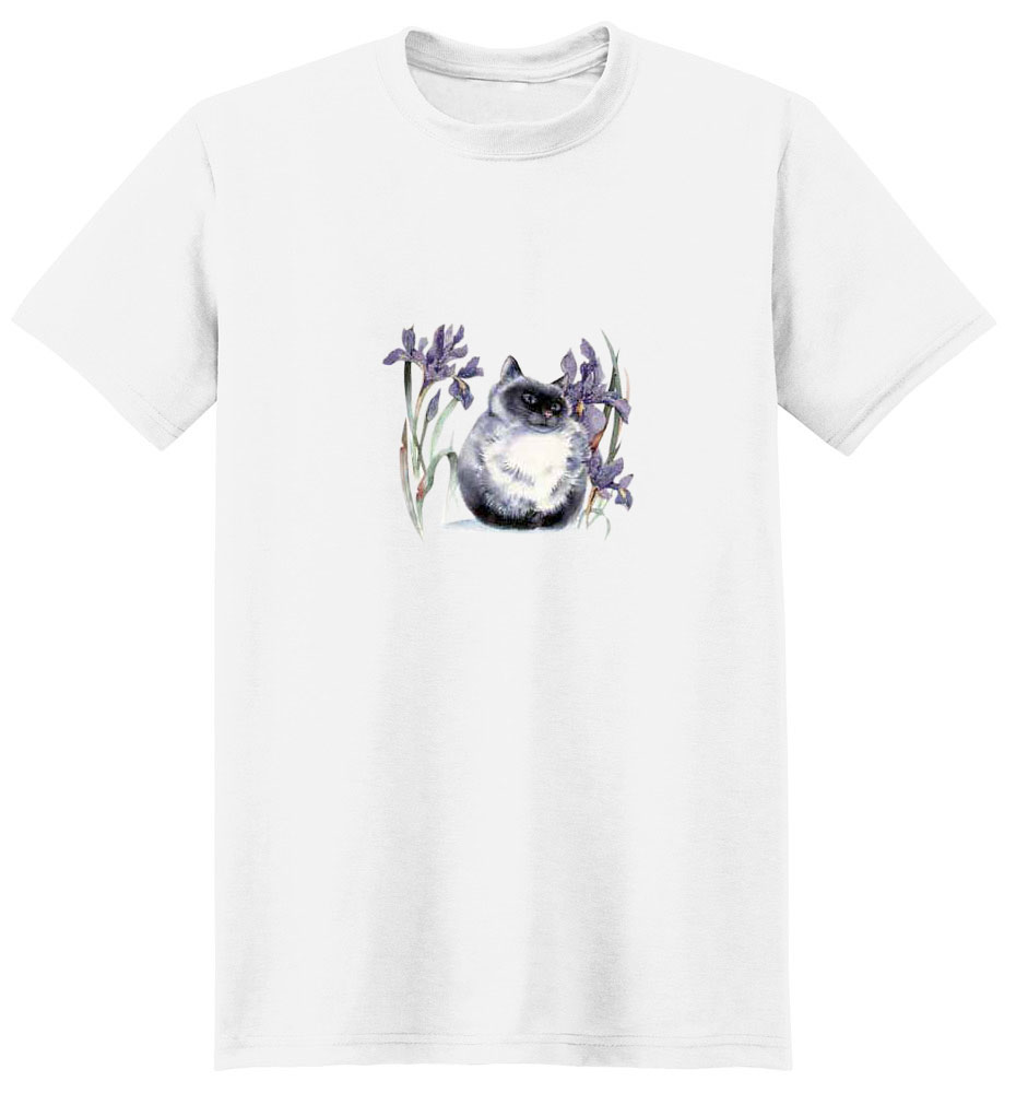 Birman Cat T-Shirt - Eye Catching