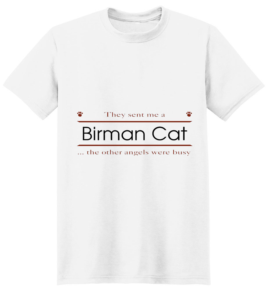 Birman Cat T-Shirt - Other Angels