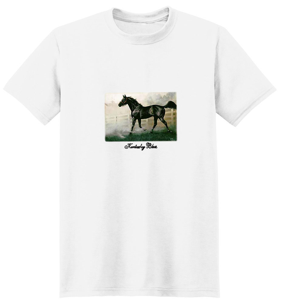 Black Horse T-Shirt - Rich and Stunning