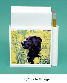 Black Lab Hold-a-Note