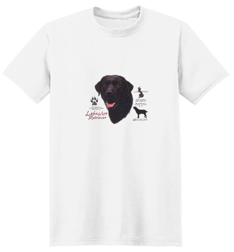 Black Lab T-Shirt - History Collection