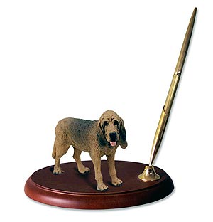 Bloodhound Pen Holder