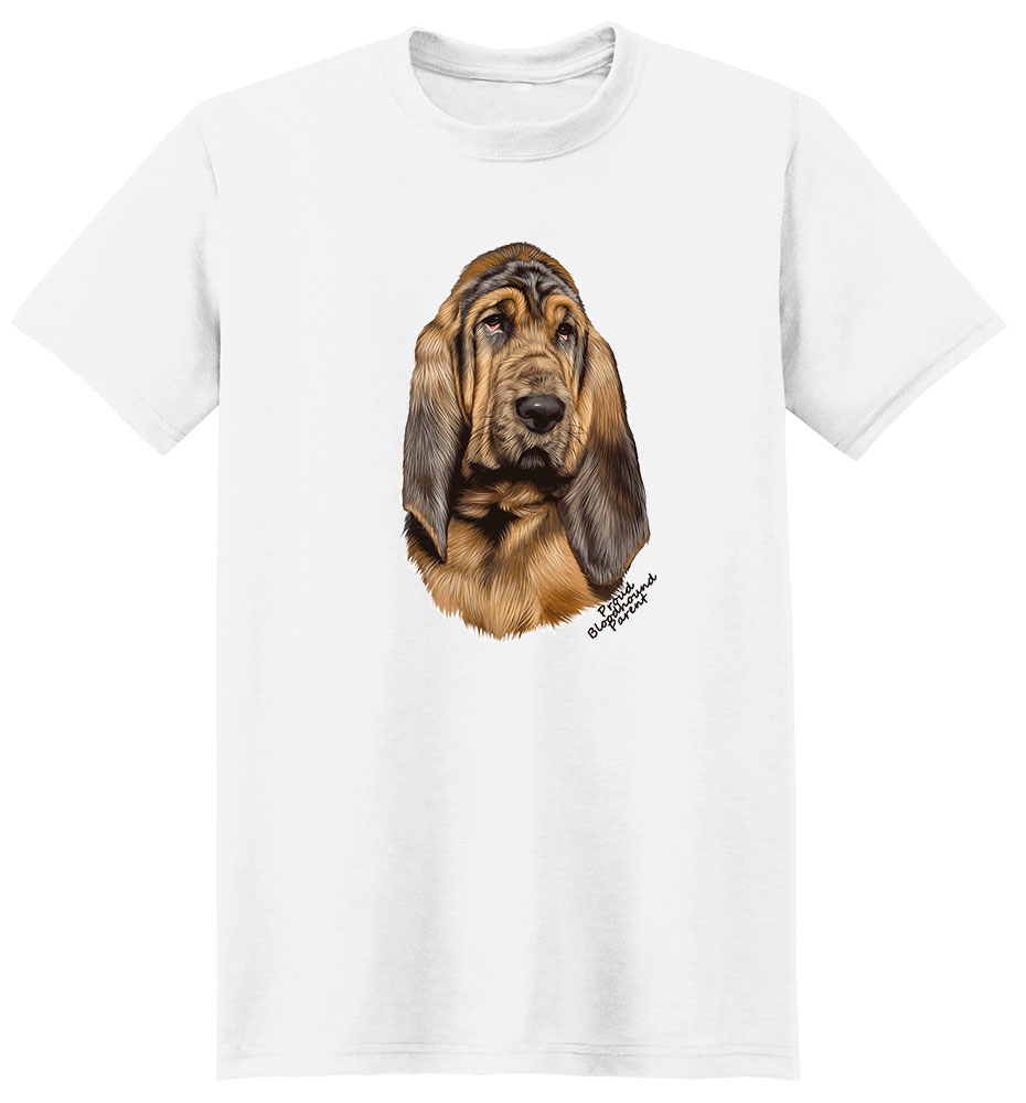 Bloodhound T Shirt - Proud Parent