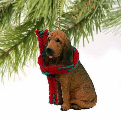 Bloodhound Tiny One Christmas Ornament