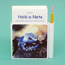 Blue Poison Frog Hold-a-Note