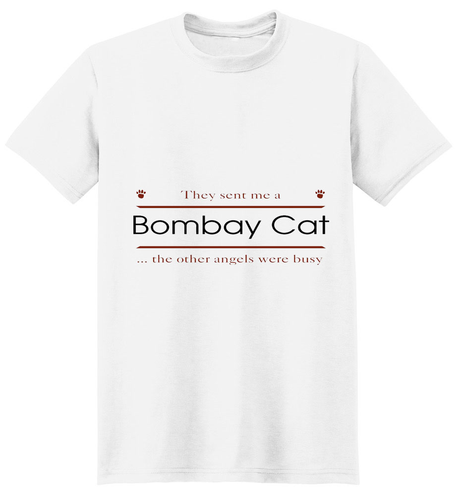 Bombay Cat T-Shirt - Other Angels