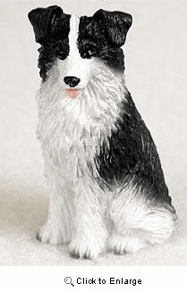 Border Collie Miniature Figurine