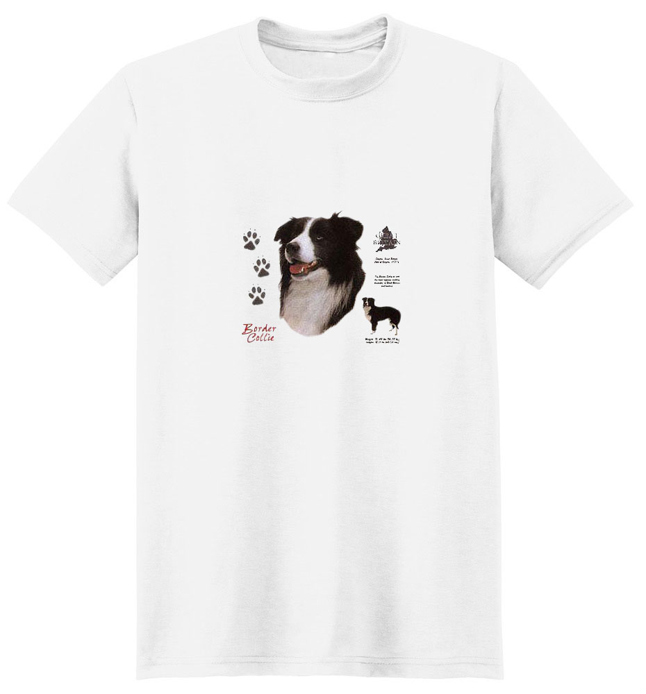 Border Collie T-Shirt - History Collection