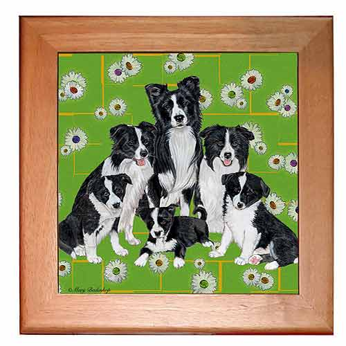 Border Collie Trivet