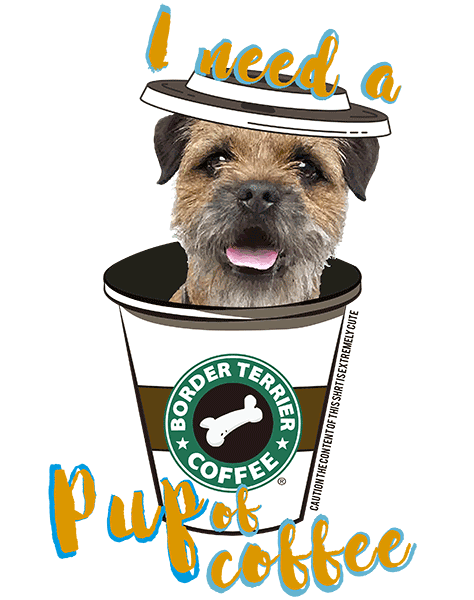 Border Terrier T Shirt - Coffee Mug