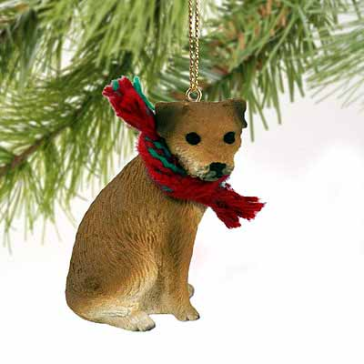 Border Terrier Tiny One Christmas Ornament