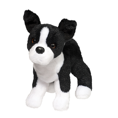 Boston Terrier Plush Stuffed Animal