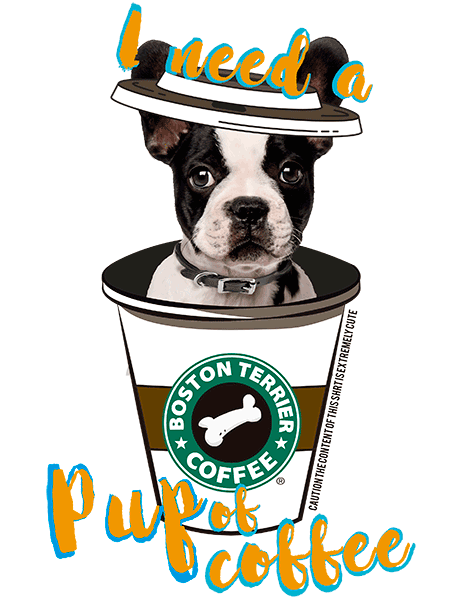 Boston Terrier T Shirt - Coffee Mug