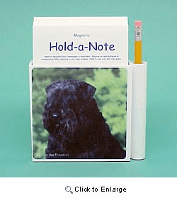 Bouvier des Flandres Hold-a-Note
