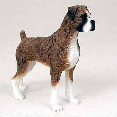 Boxer Figurine Brindle Uncropped