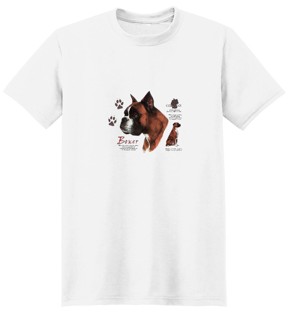 Boxer T-Shirt - History Collection