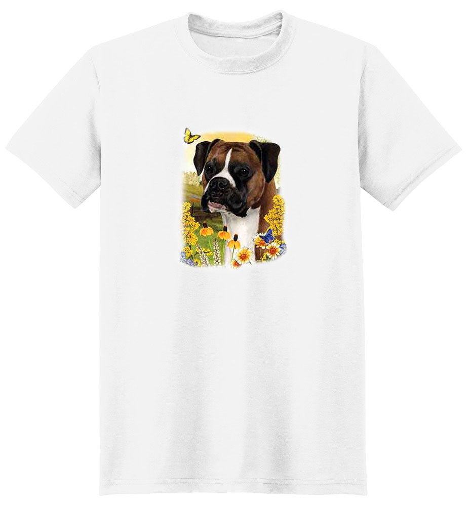 Boxer T-Shirt - Puppies and Paws