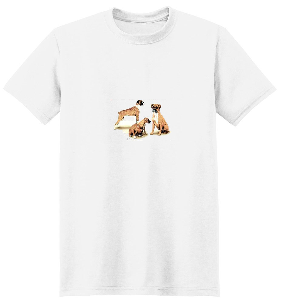 Boxer T- Shirt with Family