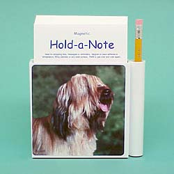Briard Hold-a-Note
