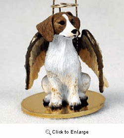 Brittany Christmas Ornament Angel
