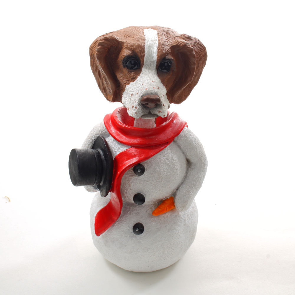 Brittany Snowman Christmas Decoration