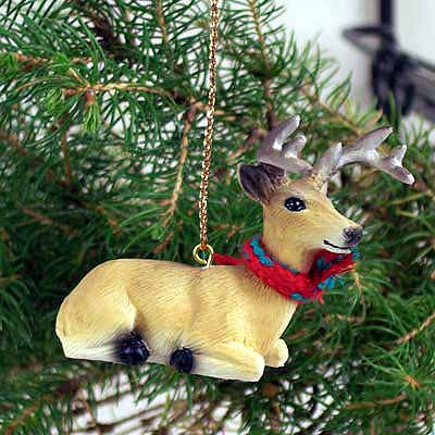 Buck Deer Tiny One Christmas Ornament