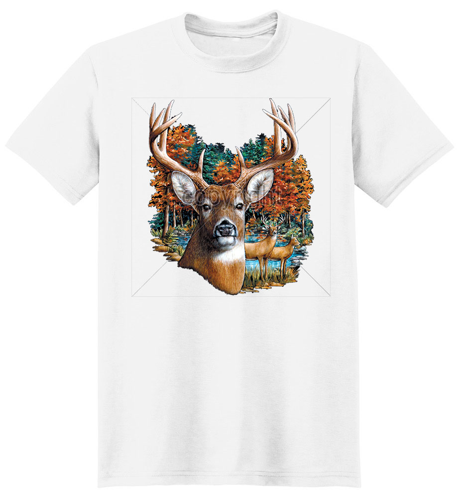 Buck T Shirt Autumn Colors