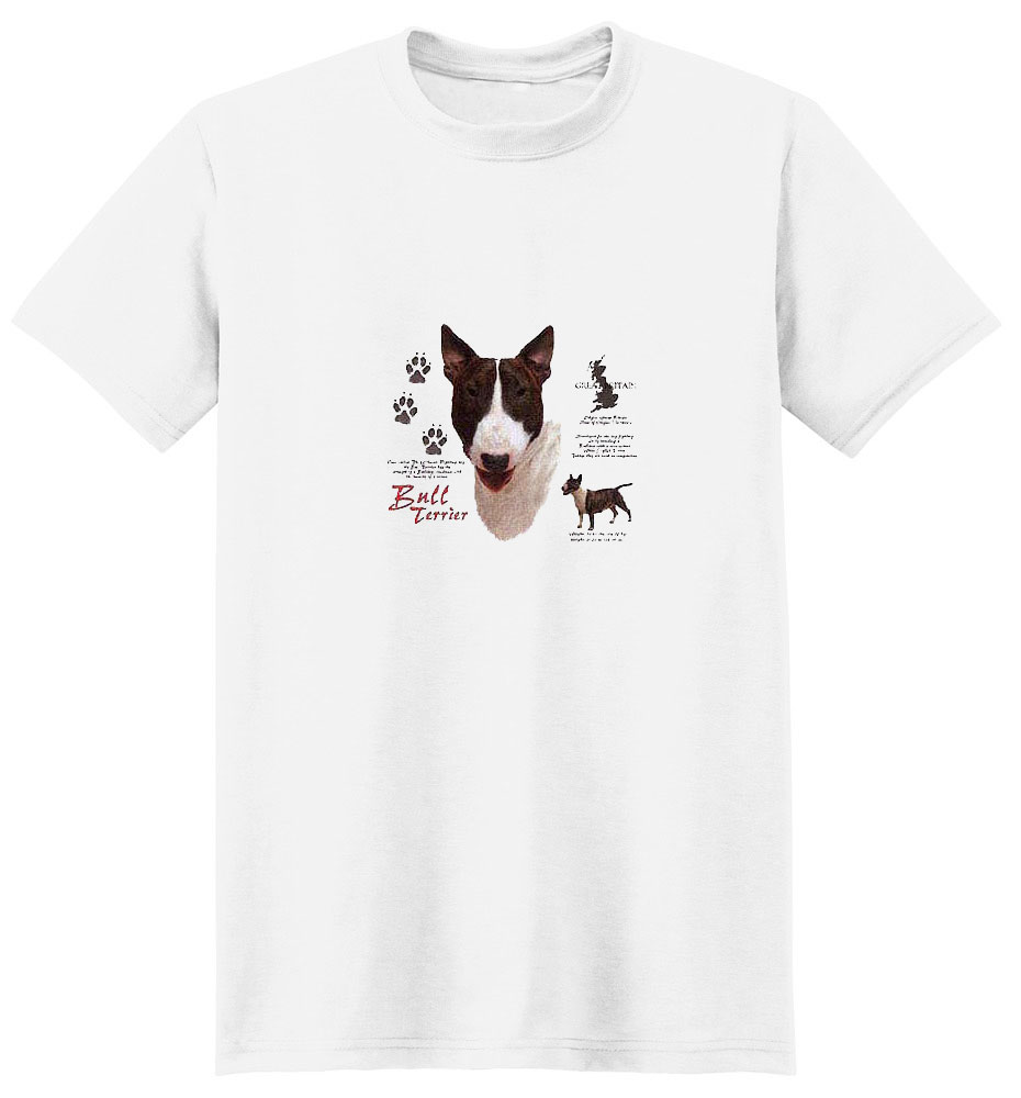 Bull Terrier T-Shirt - History Collection