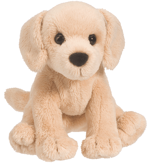 Butter Yellow Labrador 5� Stuffed Plush Animal