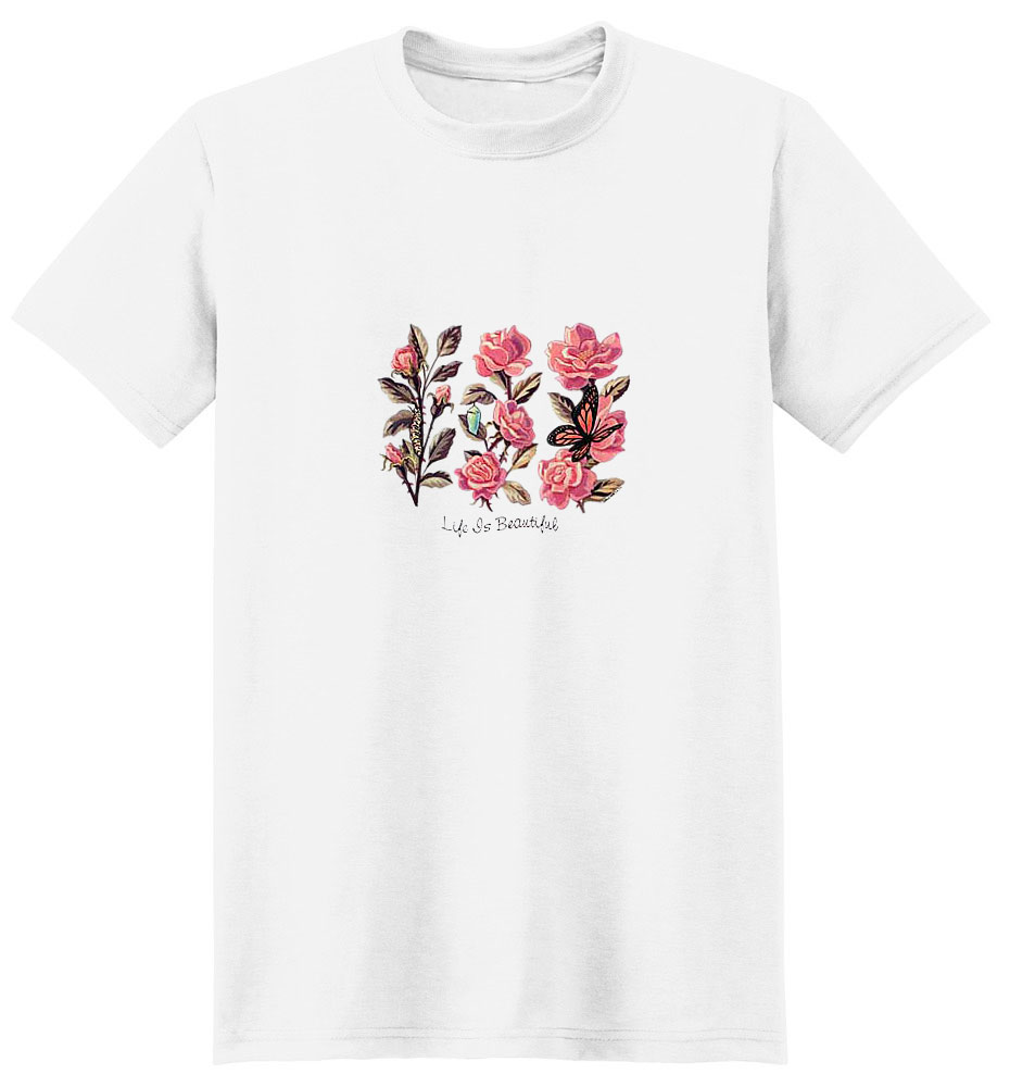 Butterfly T-Shirt - Life if Beautiful