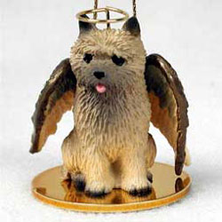 Cairn Terrier Christmas Ornament Angel