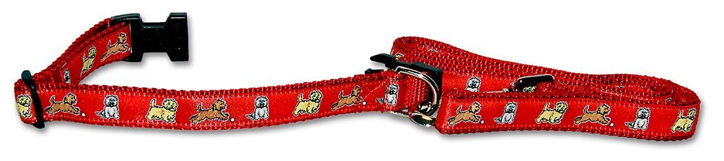 Cairn Terrier Collar & Leash