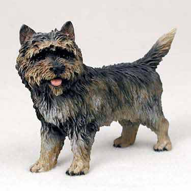 Cairn Terrier Figurine Brindle