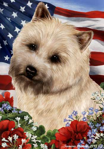 Cairn Terrier House Flag