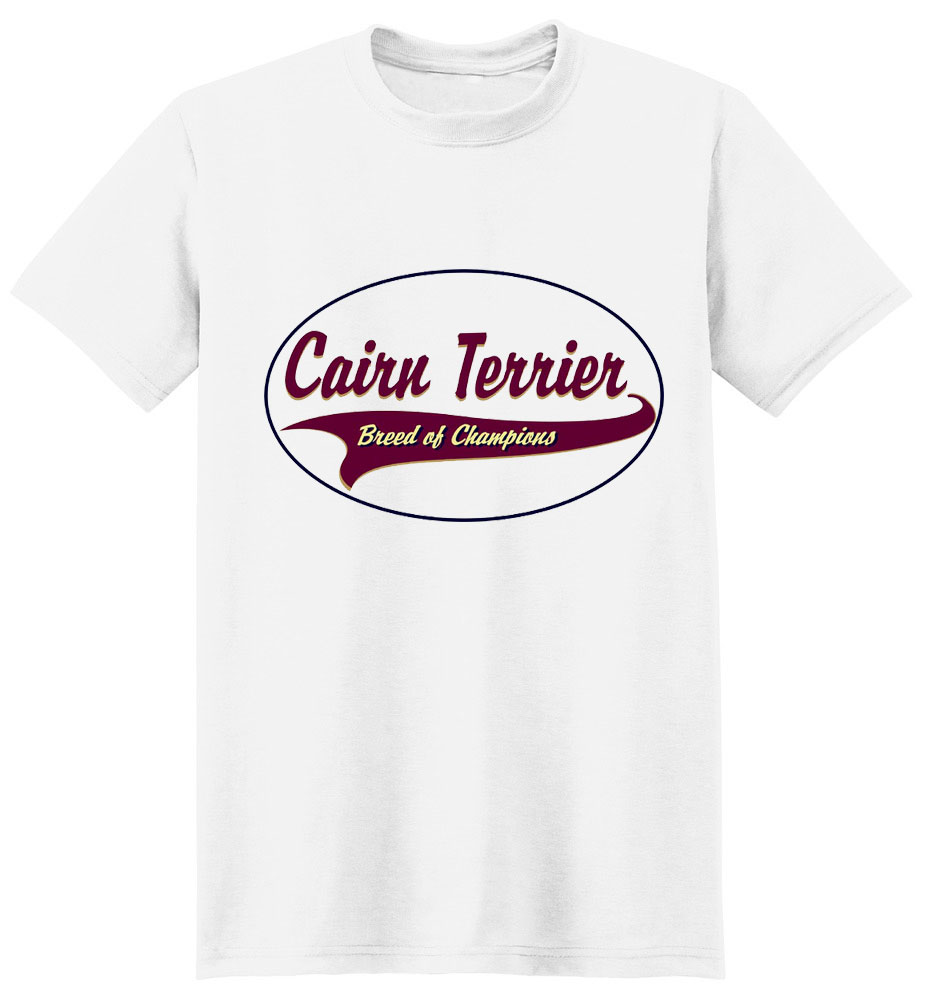 Cairn Terrier T-Shirt - Breed of Champions